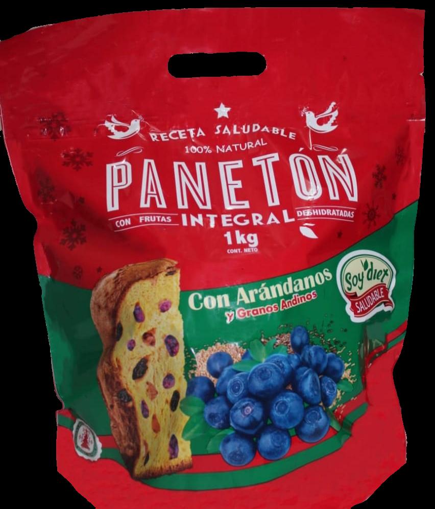 PANETON SOY DIET -Arandanos y granos andinos