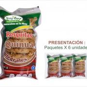 ROSCAS DE QUINUA SOY DIET